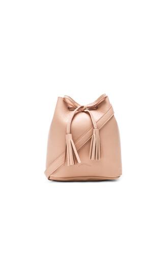 bag bucket bag blush