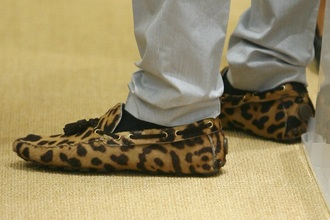 shoes leopard mens shoes fashion
