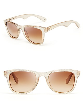 Carrera by jimmy choo glitter wayfarer sunglasses