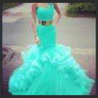 dress prom dress aqua dress blue dress long dress