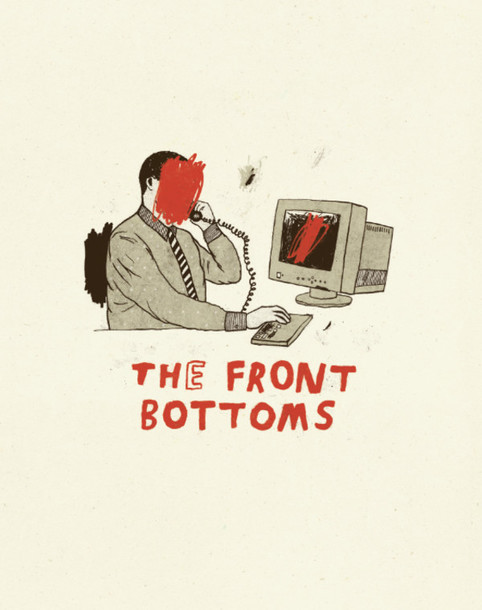 t-shirt t-shirt music The Front Bottoms graphic tee band t-shirt