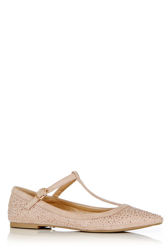 shoes flats sparkle blush pink mary jane