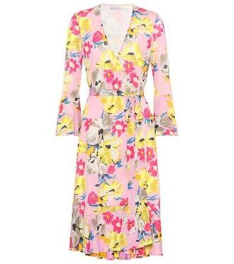 dress wrap dress floral