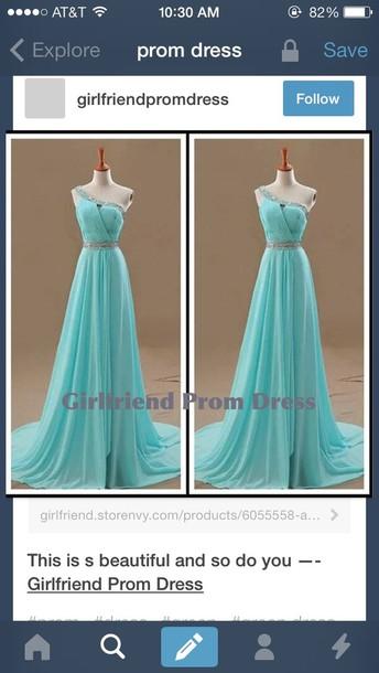dress prom dress long prom dress blue dress silver