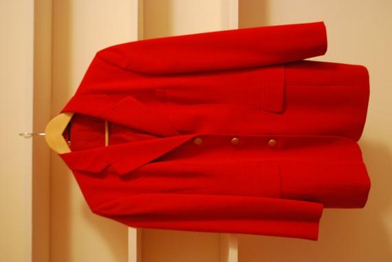 Womens red riding blazer by lilymarkham on etsy