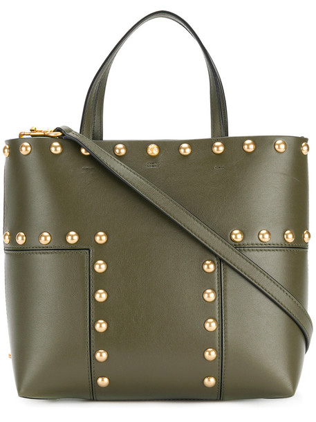 Tory Burch mini women leather green bag
