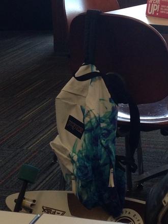 bag blue bag jansport