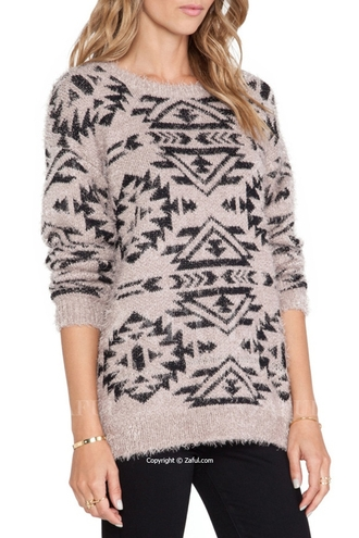 sweater aztec aztec sweater printed sweater print fall outfits fall sweater tribal pattern tribal sweater tribal cardigan autumn/winter zaful knitwear knitted cardigan knitted sweater back to school