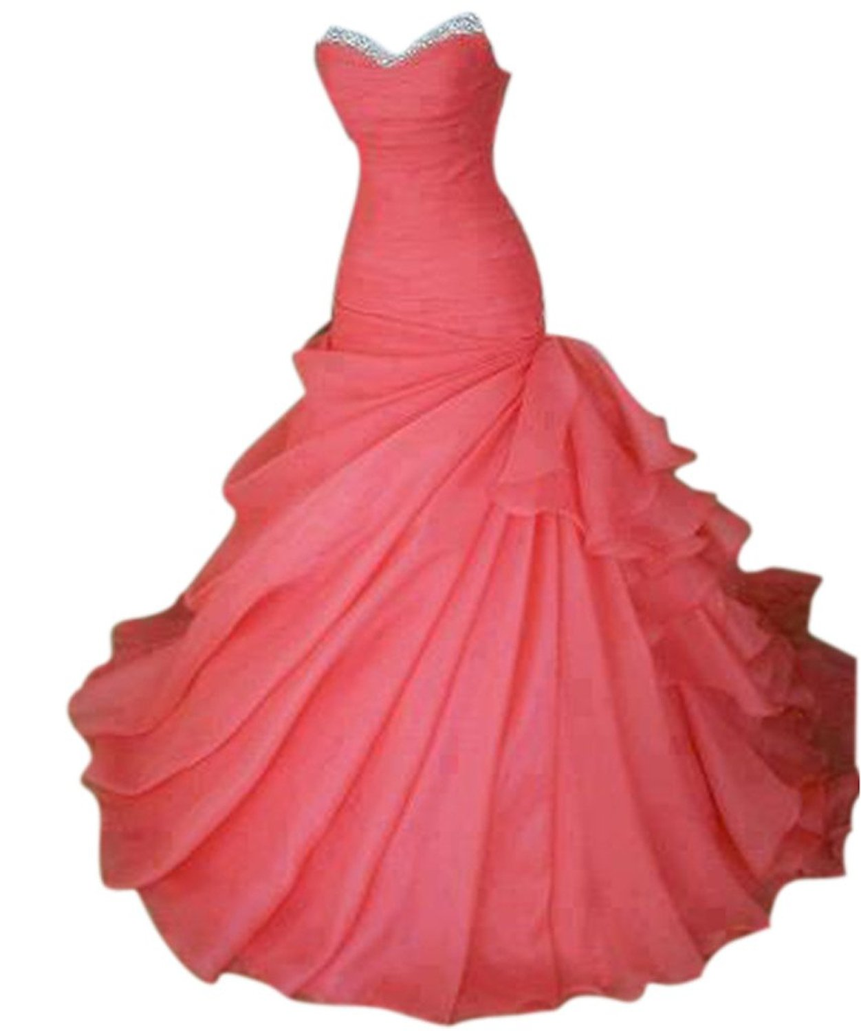 e5e593e0630c PrettyDresses Women s Ball Gown Sweep Train Formal Prom Party ...
