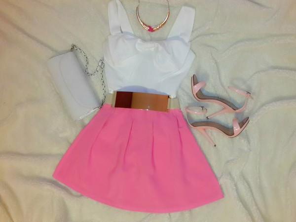 dress blouse skirt shoes bags 2014 belt necklace