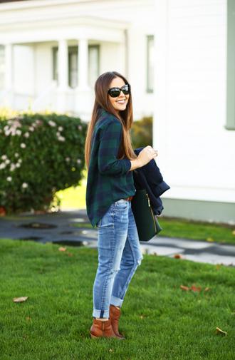 dress corilynn blogger flannel shirt