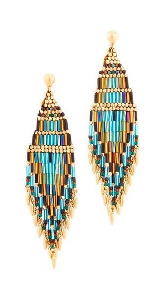 earrings green jewels