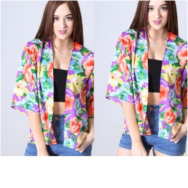 Floral Blazer – Mod Marie Boutique