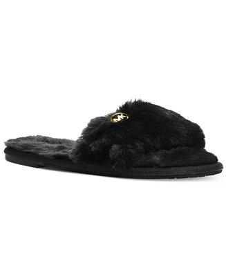 MICHAEL Michael Kors Jet Set MK Slippers - Slippers - Shoes - Macy's