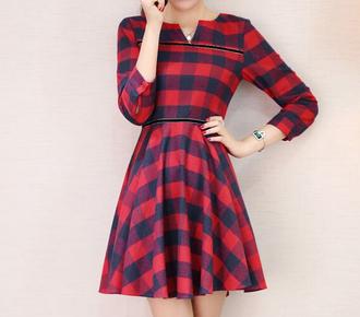 dress pleated dress plaid dress grid dress plaid pleated