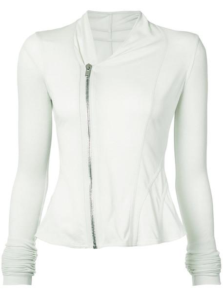 Rick Owens Lilies jacket women cotton grey