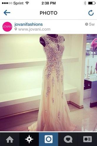 dress jovani prom dress nude dress nude prom dress