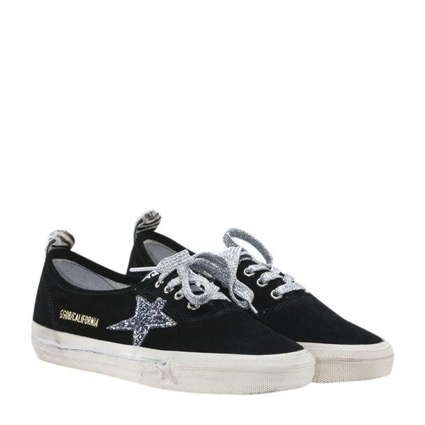 Golden goose california sneakers black shoes