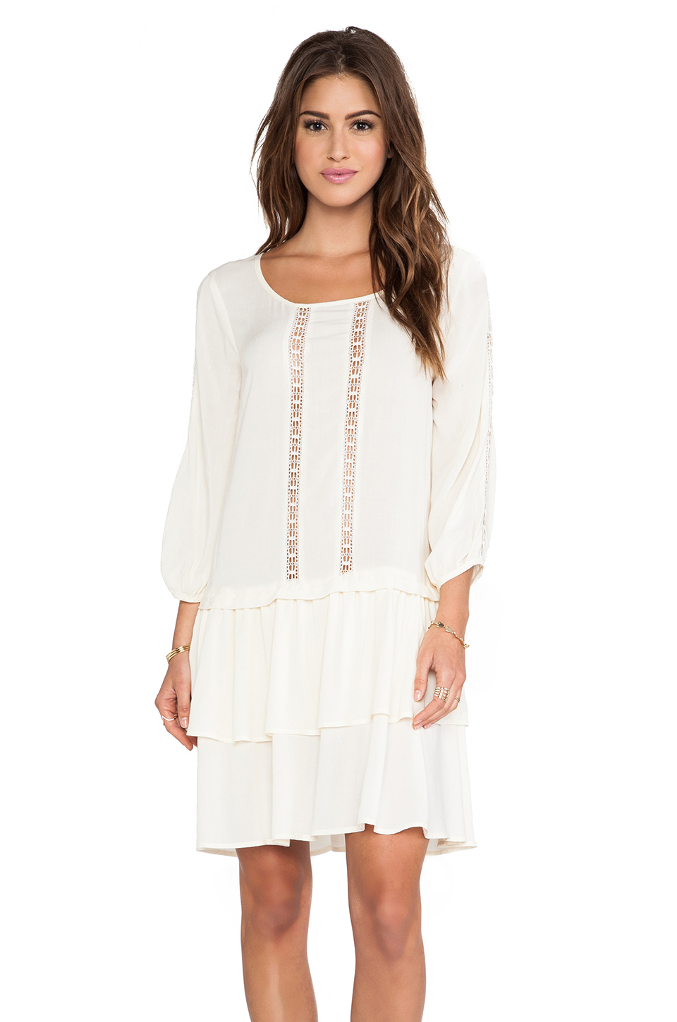 Ella Moss Elin Dress in Cream from REVOLVEclothing.com