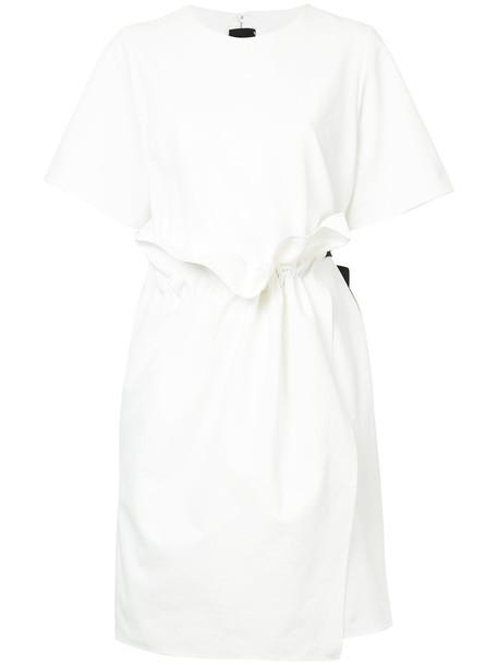 GOEN.J dress embellished dress women embellished white