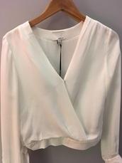 blouse,greylin