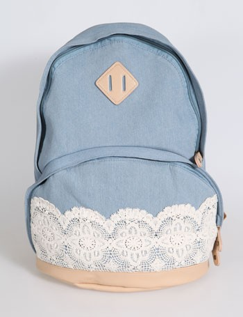 9619b1de15c4d0 new authentic lace lace handbag backpack schoolbag -EMS from ClothLess ·  Storenvy