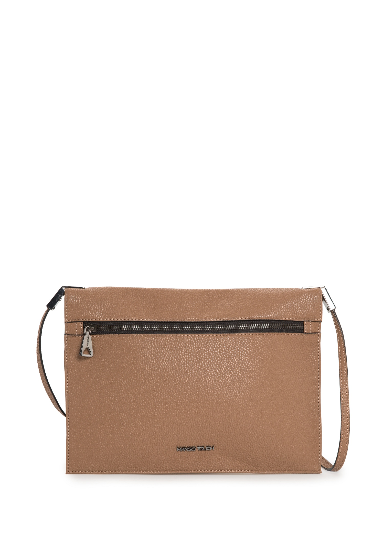 Pebbled cross-body bag - Women | MANGO