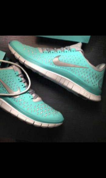 shoes tiffanyblue fashion nike nike free sport shoes running shoes tiffany blue