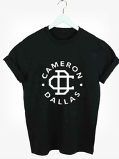shirt,shirt dress,cameron dallas,merchandise