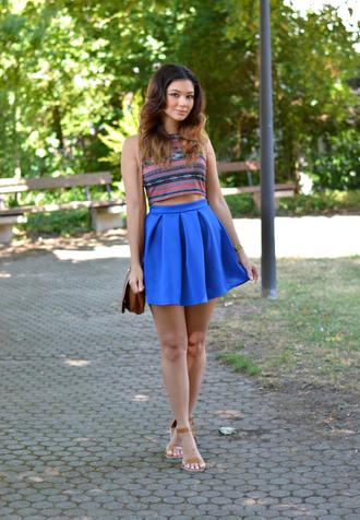 raspberry jam blogger top skirt bag shoes