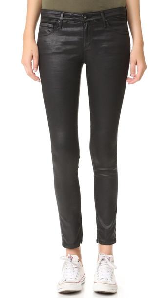 Ag The Legging Ankle Jeans - Super Black
