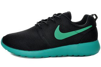 shoes nike roshe run homme noir bleu mesh chaussures toulon €57.56