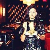 jewels,jewel cult,jewelry,necklace,choker necklace,black choker,lace,lace chokers,black lace choker,earrings,ear cuff,edgy,victoria justice,celebrity style,celebrity