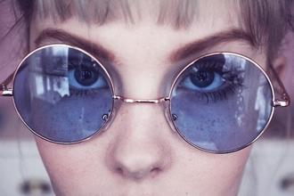 Tumblr Round Glasses