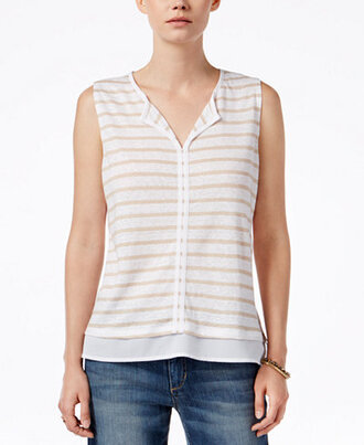 top striped top clothes blouse