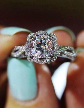 jewels ring diamonds beautiful jewlery solitare diamond ring