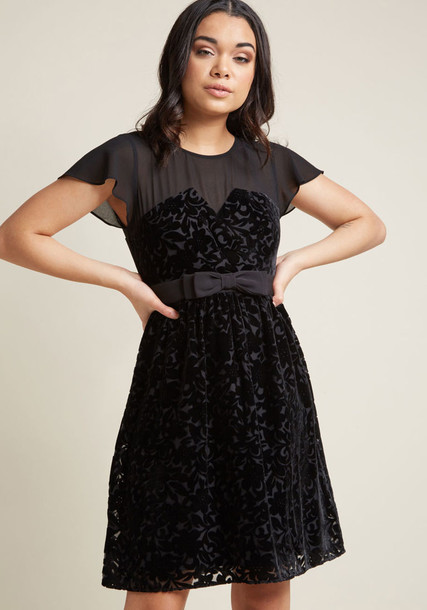 Modcloth dress black