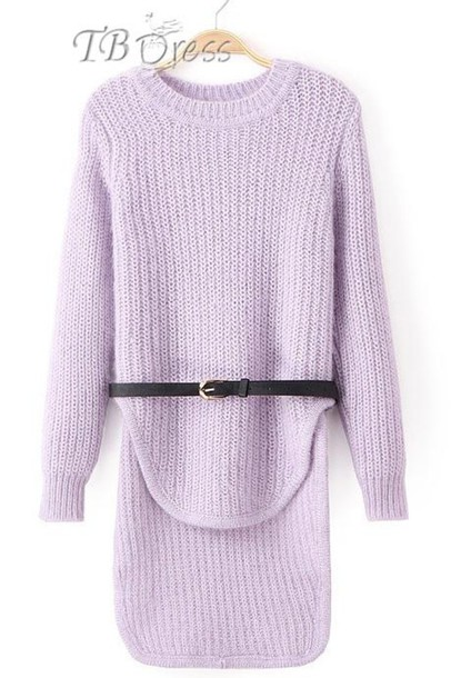 9612ae5269ec lavender sweater dress sweater sweater dress belted dress lavender