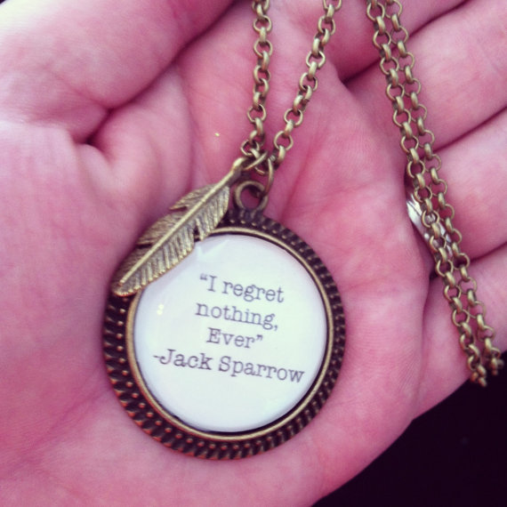 jack sparrow pirates of the caribbean quote by 2tinyhearts on Etsy