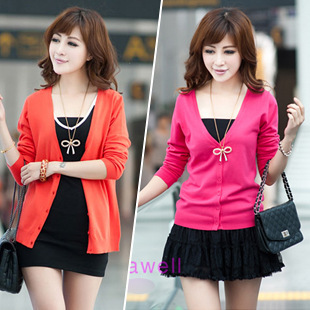 free shipping .16 color .cardigan women 2014  v neck Long sleeved sweater.womens cardigan. coat for women. The shawl. Lady-in Cardigans from Apparel & Accessories on Aliexpress.com