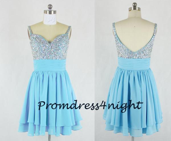 blue formal dress blue prom dress short homecoming dress blue cocktail dress blue homecoming dress mini prom dress sequin bodice prom dress dress