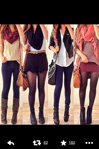 cardigan fall outfits fall sweater fall boots fall trend fall 2014 fall scarves fall style boots blouse jacket scarf shoes button up light