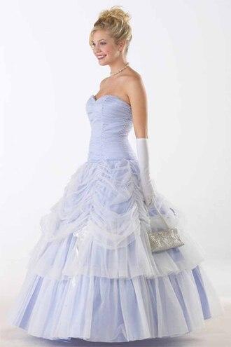 dress cinderella lavender prom gown
