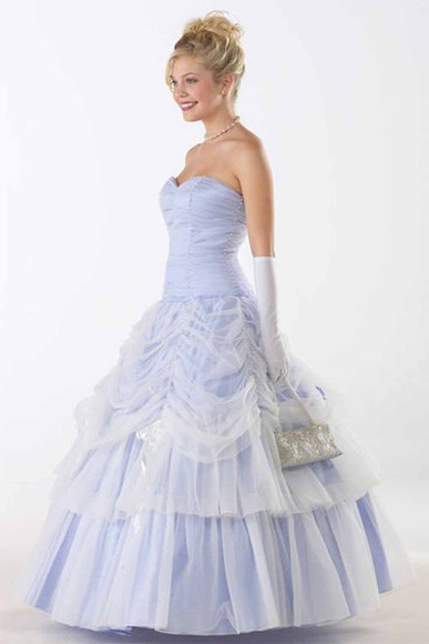 dress cinderella lavender prom gown
