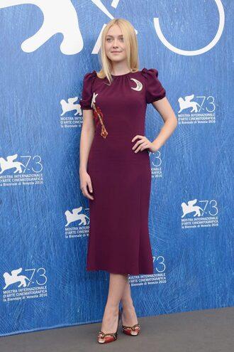 dress burgundy burgundy dress dakota fanning sandals midi dress shoes