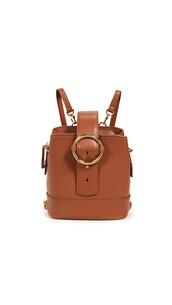 mini,backpack,mini backpack,brown,bag