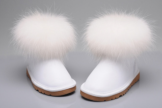 shoes ugg classic mini fox fur ugg fox fur ugg fox fur white ugg classic mini