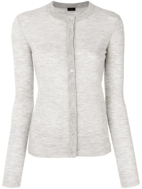 Joseph cardigan cardigan women grey sweater
