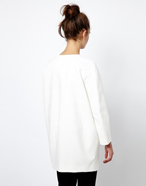 French Connection | French Connection Cottage Ovoid Coat in Cotton at ASOS