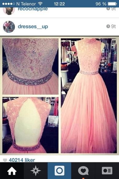 dress pink prom dress pink dress expensive gorgeous glamgerous deadly in love